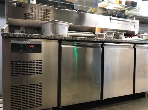 Ремонт холодильного стола